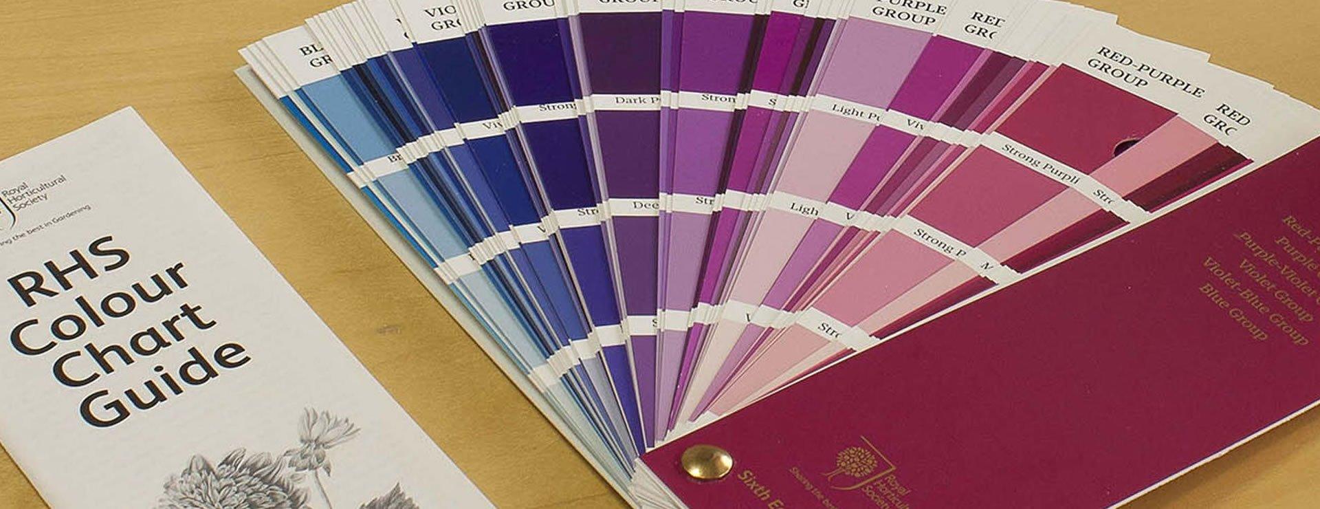 The RHS Colour Chart